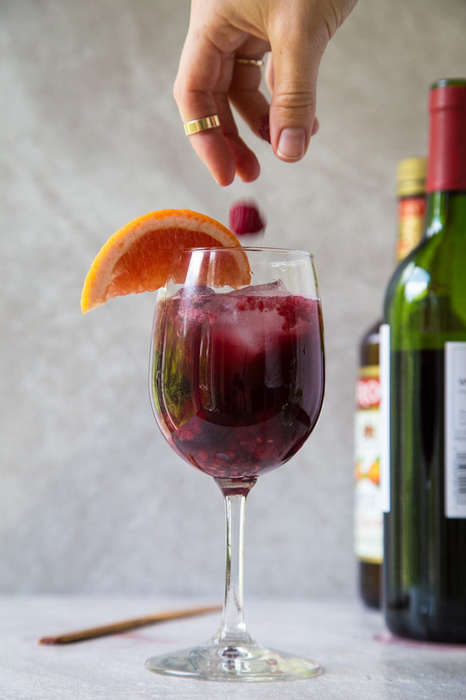Solo Sangria Recipes - The Single-Serve 'Lazy Girl' Easy Sangria Recipe is Fit for One