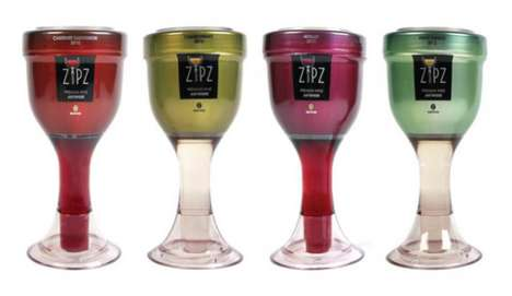 Single-Serve Wine Packs - Zips Offers Travel-Sized Wine Containers for Those on the Go