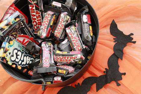 Spooky Holiday Chocolate Bars - These Limited Edition Nestle Halloween Candies Boast Punny Names