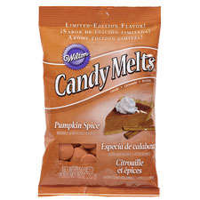 Melting Halloween Candies - The Pumpkin Spice Candy Melts Make it Easy to Make Candy-Coated Delights