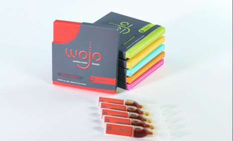 Single-Serve Vitamin Shots - Wojo Nutrition's Liquid Vitamins Come in Portable Supplement Pouches
