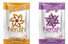 Portable Protein Packets - Nerush's Protein Supplement Comes in Packs That Combine with Water
