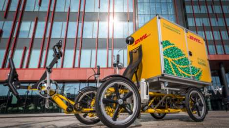 Pedal-Assist Cargo Bikes - The Velove Armadillo is Being Tested By DHL Express Netherlands