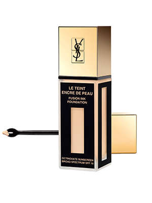 Inkwell Cosmetic Containers - The YSL Fusion Ink Foundation Comes with a Dropper for Application