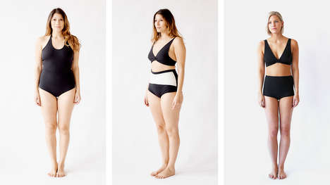 Shape-Specific Swimwear - The Hackwith Design House Bathing Suit Collection is Made for Many Shapes