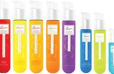Test Tube Cosmetic Branding - DNAEGF's Skincare Packaging References Scientific Tools