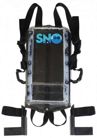 Wearable Snow Sleds - Ths SnoSnoot Wearable Sled Comes In Feet-First and Head-First Versions
