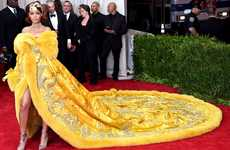 The Rihanna Met Gala Dress is a Handmade and Vintage Piece