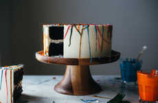 Paint Splatter Cakes
