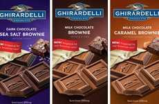 Chocolate Brownie Bars - Ghirardelli's Sweet Bars Mimic the Taste of a Baked Chocolate Treat