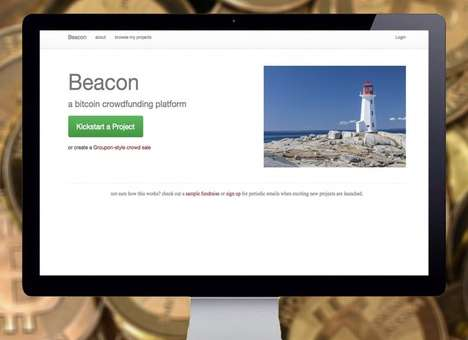 Crypocurrency Crowdfunding Sites - The Beacon is Like Kickstarter for Raising Funds with Bitcoin