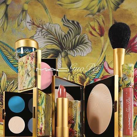 Couture Chinese Cosmetics - The Guo Pei MAC Makeup Collection Channels Chinese Elegance