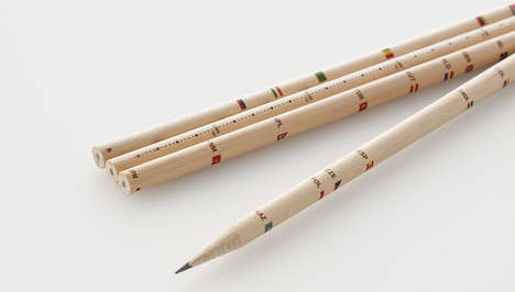 30 Low-Tech Writing Tools - From Lyrical Pencil Packs to Metallic Pen Accessories