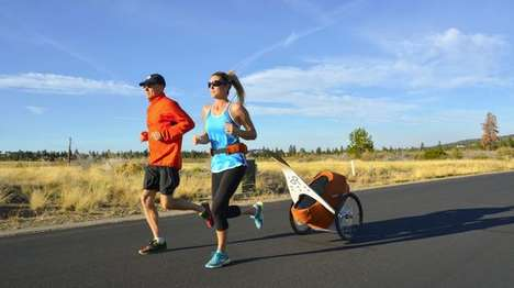 Child-Towing Carts - The kidRunner Lets You Tow Your Kids Along While You Jog