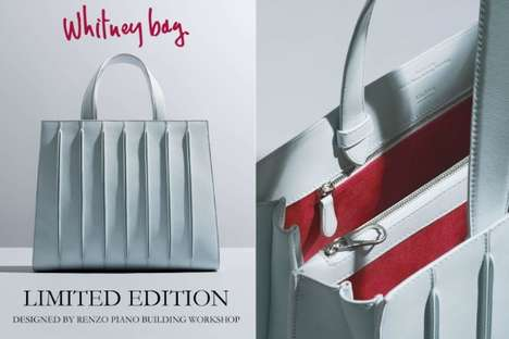 Architecture-Inspired Bags - The New Max Mara 'Whitney Bag' is Inspired by the Whitney Museum