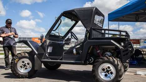 Tough Farm Vehicles - The Tough Tomcar Makes Off-Road Work a Breeze