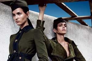 The Vogue Japan A Uniform Way of Life Photoshoot is Militaristic
