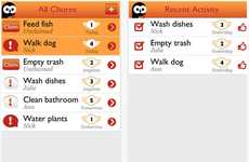 Chore-Tracking Apps - The Chorma App Allows Users to Schedule and Assign Chores