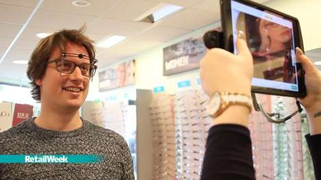 Interactive Optometry Shops - Specsavers Makes Shopping for Glasses More Customer-Friendly