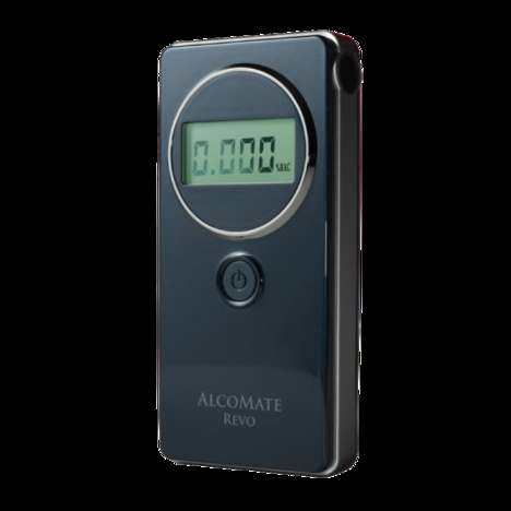 Eternally Accurate Breathalyzers - The Compact AlcoMate Revo Never Needs to Be Calibrated