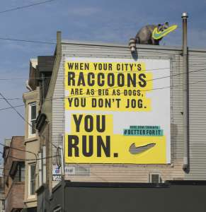 Localized Fitness Campaigns - The Nike Toronto Billboards Specifically Target Female Runners