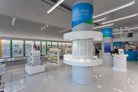 Bright Tech-Savvy Stores - The Kafkas Retail Concept is Airy and Spacious for Easy Browsing