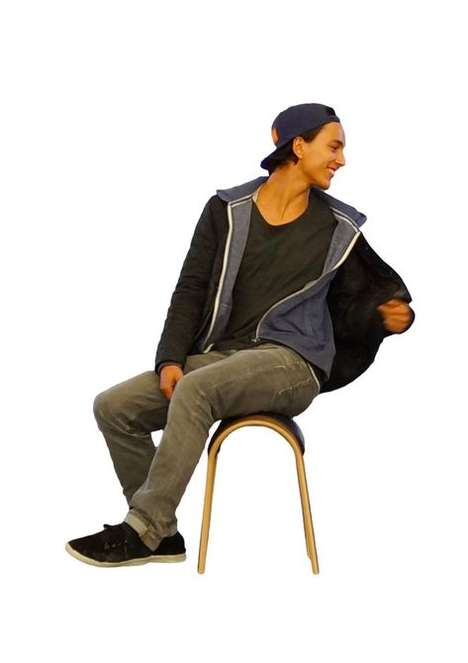 Posture-Improving Smart Stools - The Zami Life Encourages Active Sitting and Better Posture
