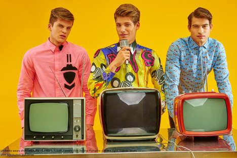 Nostalgic Menswear Editorials - 'That 70s Commercial' Explores Retro Wardrobe Staples