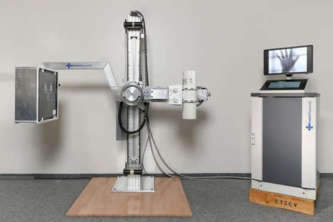 Low-Cost Medical Scanners - The Adapted X-Ray Machine is Designed for Hot Developing Countries