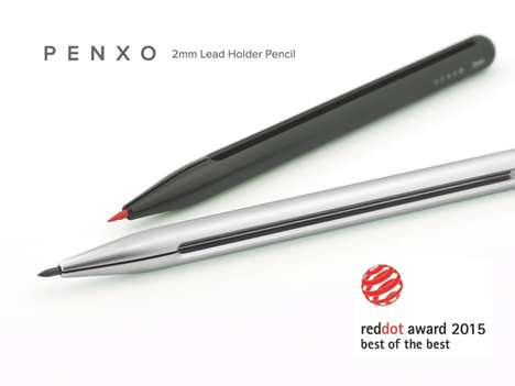 Minimalist Pencil Lead Holders - PENXO Wins the Red Dot Award for Best of the Best in Product Design