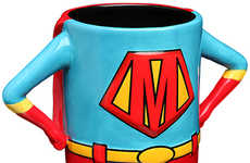 Superhero Mom Mugs - This Dishware Accessory is a Perfect Gift for Mother's Day 2015