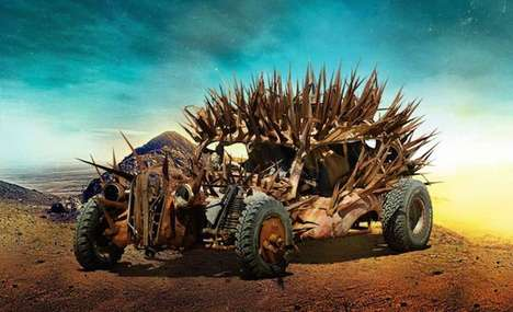 Apocalyptic Movie Vehicles - The Cars of Mad Max Fury Road are Deadly Concepts Fit for Survival