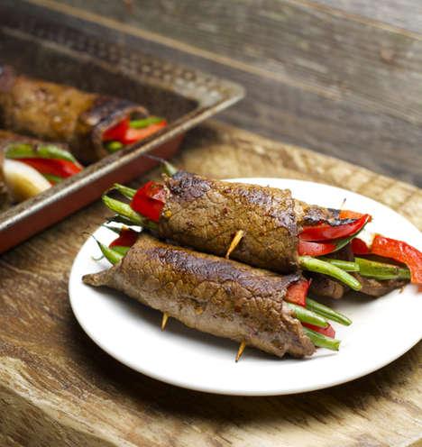 Steak Roll Wraps - Maebells' Steak Recipe Provides a Versatile Base to Make Your Own