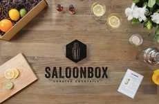 Boxed Mixology Subscriptions - SaloonBox Has Everything You Need to Make the Perfect Cocktail