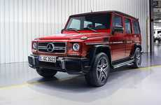 Refreshed SUVs - The Edition 643 Redesign of Mercedes' G-Class 4x4 is Designed to Catch the Eye