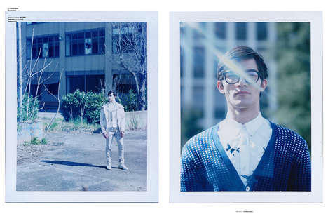 Nerdy Urbanite Editorials - The Ones 2 Watch Cryptonite Feature Boasts Preppy Menswear Styles