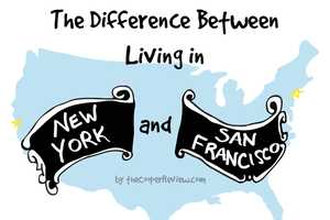 Sarah Cooper Differentiates Between Living in NYC versus San Francisco