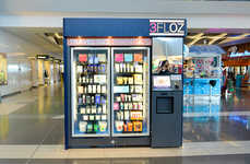 All-Natural Cosmetics ATMs - These 3FLOZ Vending Machines Sell Travel-Sized Beauty in Airports