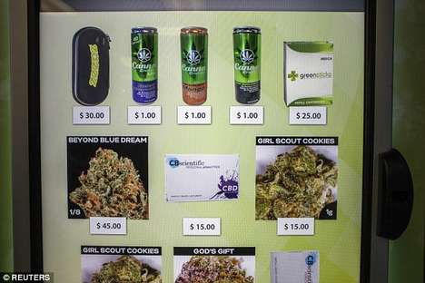 Cannabis Vending Machines - American Green Has Built the First Consumer-Operated Marijuana Atm
