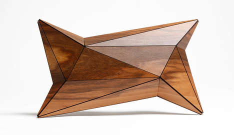 Structural Wood Clutches - Designers Vera Zaishi and Christian Melz Make Naturalistic Accessories