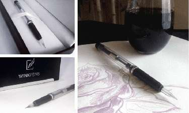 Wine-Infused Pens - The WINKpen uses Wine, Beer and Coffee Instead of Ink