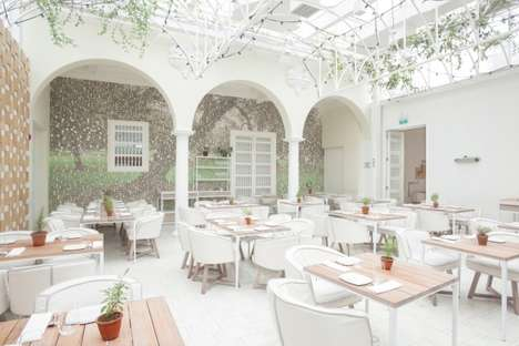 18 Understated Restaurant Interiors - From Chic Culinary Art Centers to Opulent Glass Eateries