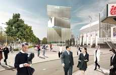 Twisted Hotels - The Nhow Amsterdam RAI Hotel Will Be the Tallest Hotel in the Netherlands
