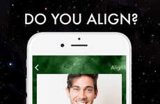 Astrological Dating Apps - Align Analyzes Zodiac Compatibility to Make Love Matches