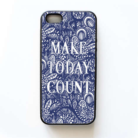 Inspirational Phone Cases - Wallflower Design Co's Custom Case Celebrates the Beauty if Life