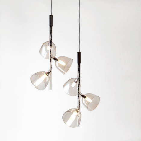 Chemistry Lab Lighting - The Something Design Labo Pendant is Modeled After Scientific Materials