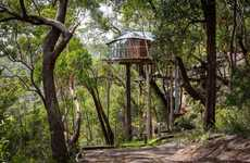 Mountainous Treehouse Hotels - This Hotel is Located in the Blue Mountains of Australia