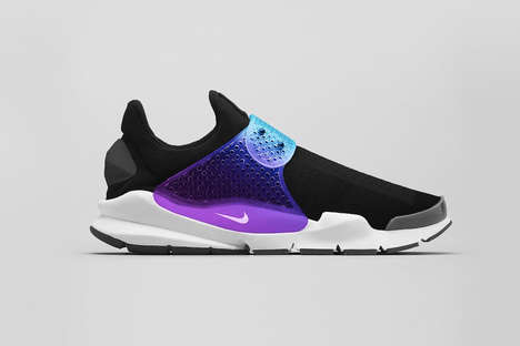 Reinvented Cult Sneakers - The New Nike Sock Dart References a Classic Shoe