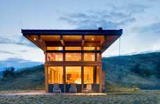 Nature Embedded Architecutre - The Nahahum Balance Associates Architects Home is Set in Nature