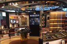 Multi-Sensory Cognac Shops - Martell's Airport Spirits Store Promises an 'Art de Vivre' Experience